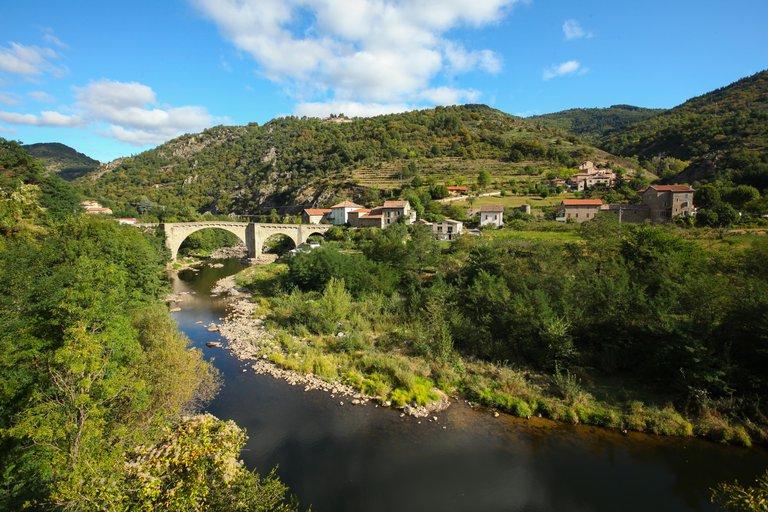 ©Simon Bugnon - Dolce Via - Ardèche - CHALENCON - Pont de Chervil - 2012 sept. - n°2.jpg
