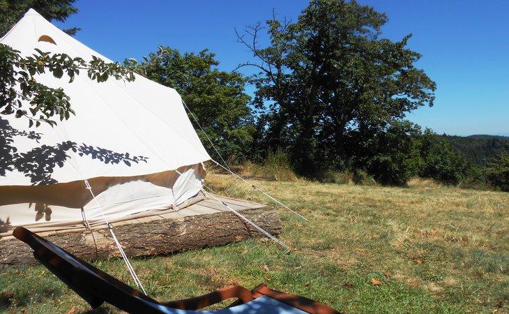 Photo Les Soleillas - tente saharienne (1-5 pers.)
