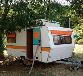 Photo Les Soleillas - caravane rétro (1-4 pers.)