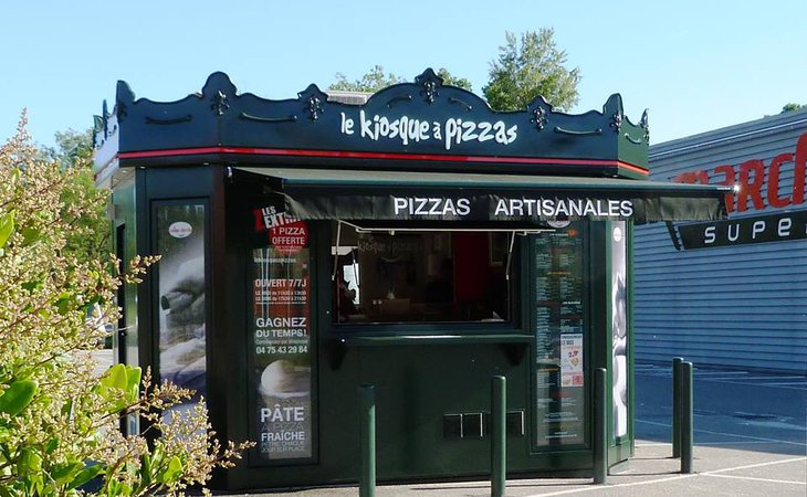 Photo Kiosque à pizzas