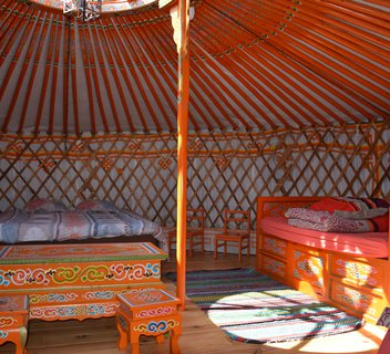 Photo Yurt of the equestrian centre