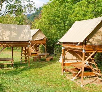 Photo Bivouac au camping Mas de Champel****