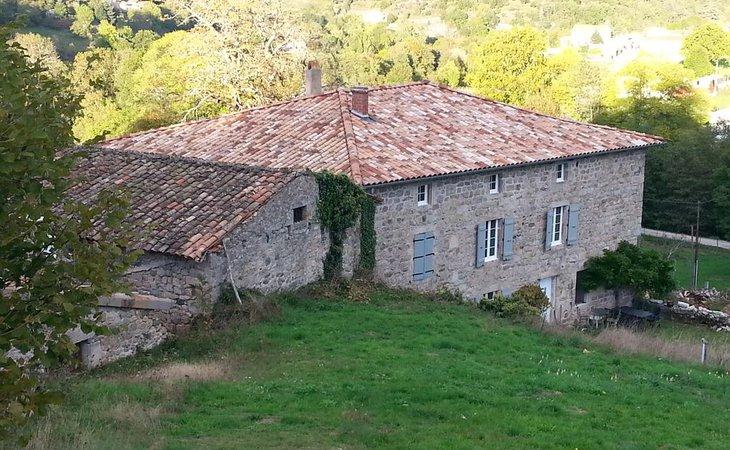 Photo La maison des Badons - Le châtaignier et les Mûriers