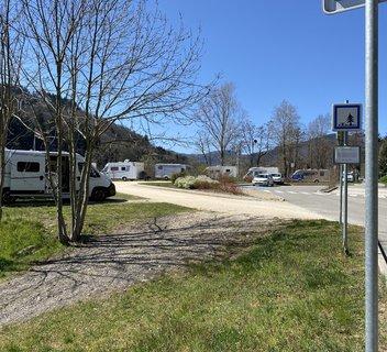 Photo Aire de service - Accueil camping-cars
