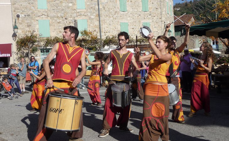 Photo The Ardeche chestnut festivals