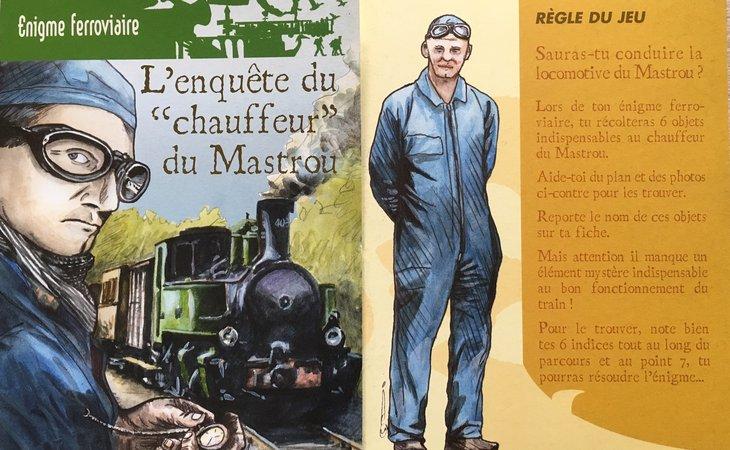 """Photo Enigme ferroviaire : """"L'enquête du chauffeur du Mastrou"""""""