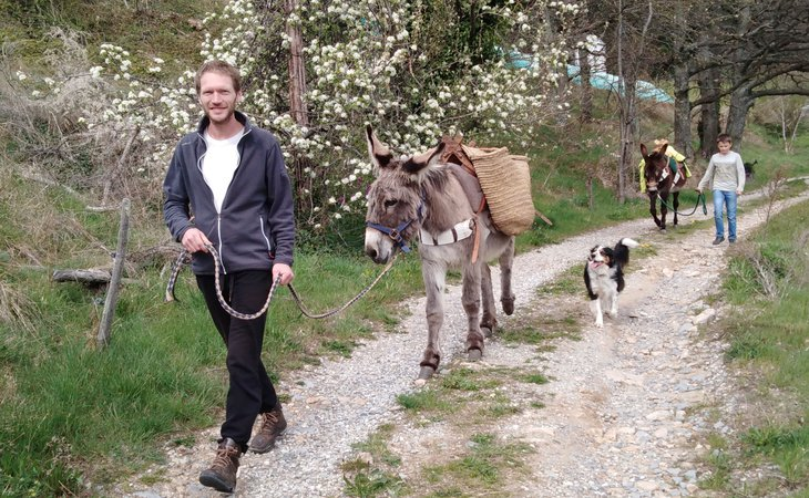Photo Ânes sans frontières - hikes with donkeys