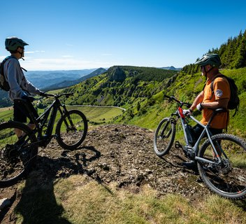 the Great Mountain Bike Trail