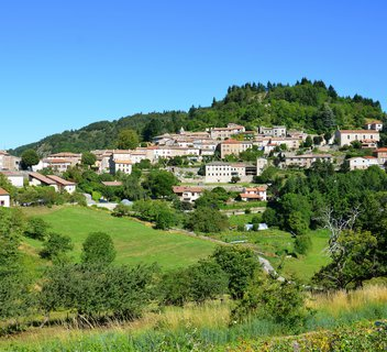 Chalencon : a village with oustanding character